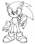 Sonic X Free Coloring Pages