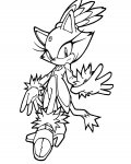 Sonic X Download coloring pages