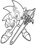 Sonic X Download and print coloring pages for kids