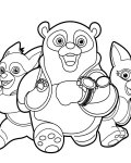 Special Agent Oso Download coloring pages