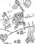 SpongeBob SquarePants Free Coloring Pages