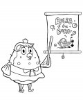 SpongeBob SquarePants Coloring Pages for boys