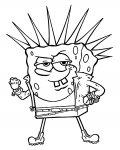 SpongeBob SquarePants Free coloring pages for boys