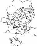 Strawberry Shortcake Printable coloring pages for girls