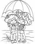 Strawberry Shortcake Printable coloring pages online