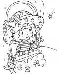 Strawberry Shortcake Online Coloring Pages for boys