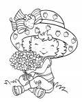 Strawberry Shortcake Free printable coloring pages