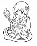 Strawberry Shortcake Download coloring pages