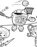 Team Umizoomi Printable Coloring Pages
