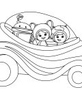 Team Umizoomi Printable coloring pages for girls