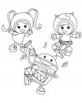 Team Umizoomi Free printable coloring pages