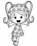Team Umizoomi Free Coloring Pages