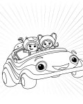 Team Umizoomi Free coloring pages for boys