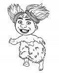 The Croods Printable coloring pages for girls