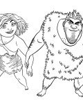 The Croods Printable coloring pages online
