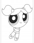 The Powerpuff Girls Free printable coloring pages