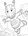 The Backyardigans Coloring Page for your Little Ones