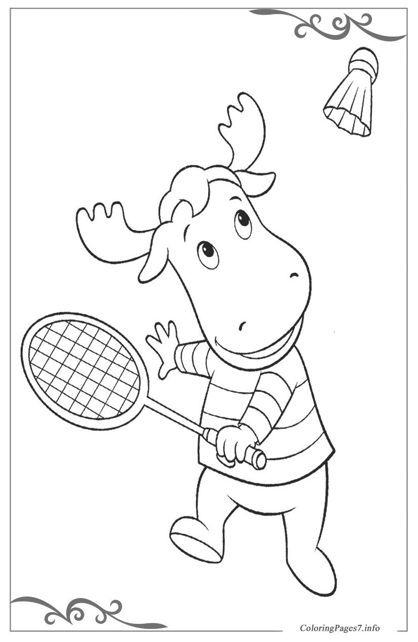 Backyardigans Coloring Pages - GetColoringPages.com | 1270x827