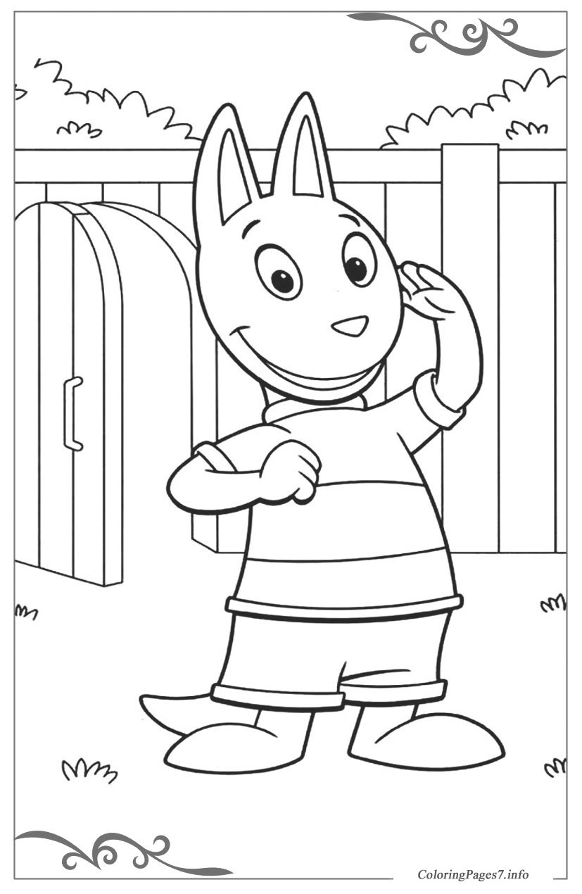 the backyardigans printable coloring pages online for kids