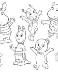 The Backyardigans Free printable coloring pages