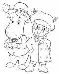 The Backyardigans Online Coloring Pages for girls