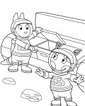 The Backyardigans Free Coloring Pages