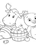 The Backyardigans Free coloring pages for boys