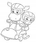 The Backyardigans Download coloring pages
