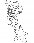 The Fairly OddParents Free printable coloring pages