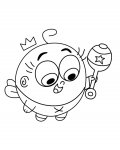 The Fairly OddParents Coloring Pages for Kids