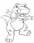 The Land Before Time Printable Coloring Pages