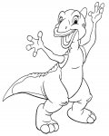 The Land Before Time Printable coloring pages online