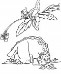 The Land Before Time Coloring Pages for boys