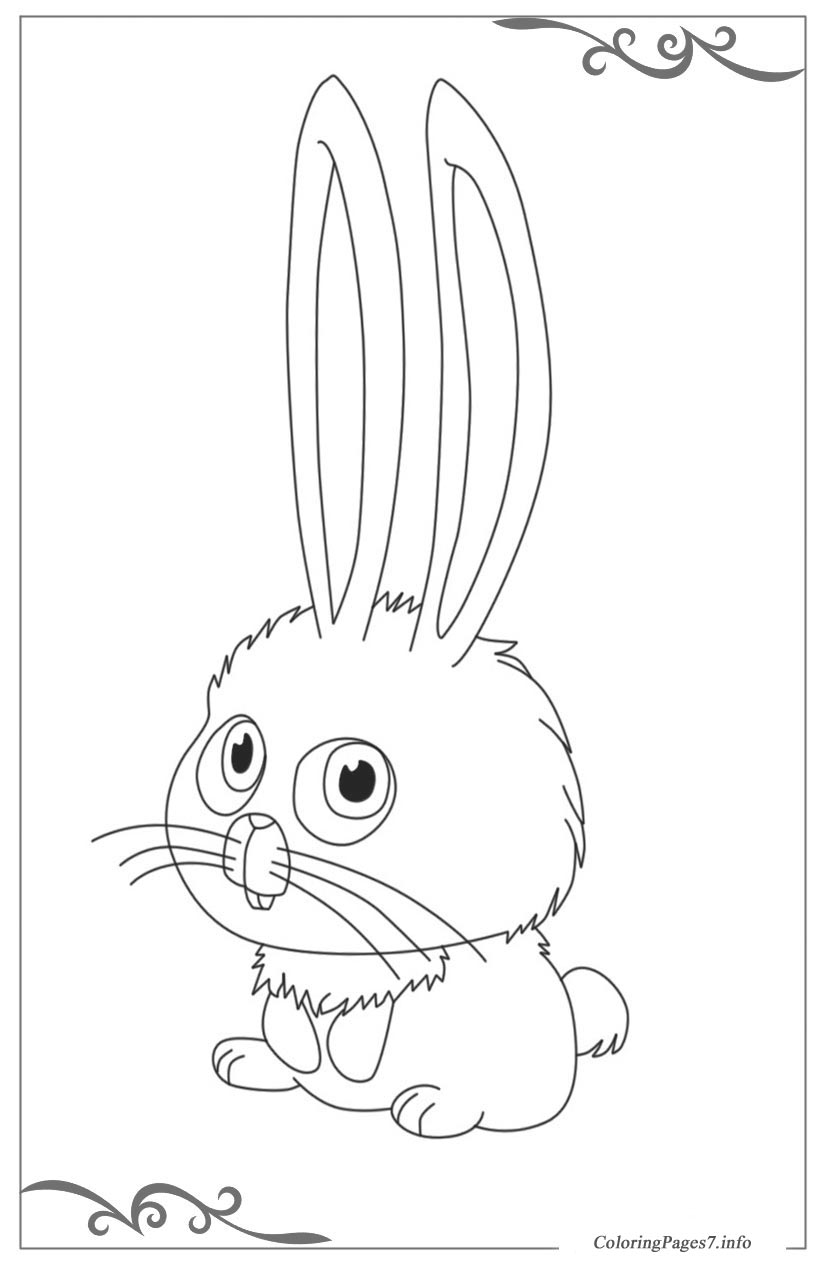 The secret life of pets download free coloring pages for kids for Secret life of pets printable coloring pages