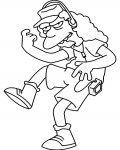 The Simpsons Printable coloring pages for girls