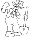 The Simpsons Online Coloring Pages for boys
