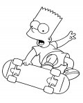 The Simpsons Free Coloring Pages