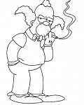 The Simpsons Coloring Pages for Kids