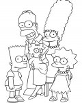 The Simpsons Coloring Pages for boys