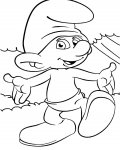 The Smurfs Online Coloring Pages for boys
