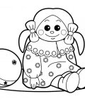 Toys Printable coloring pages for girls