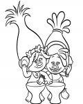 Trolls Coloring Pages for boys