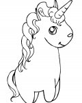 Unicorns Сoloring pages for girls