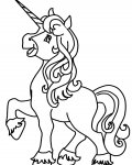 Unicorns Coloring Pages for Kids