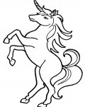Unicorns Coloring Pages for boys