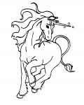 Unicorns Free coloring pages for boys