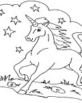 Unicorns Download and print coloring pages for kids