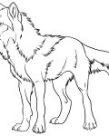 Wolves Coloring Page for your Little Ones