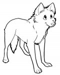 Wolves Free printable coloring pages