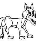 Wolves Online Coloring Pages for girls